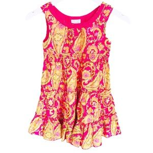 THE CHILDREN'S PLACE Paisley Dress Pink Girl 6Y